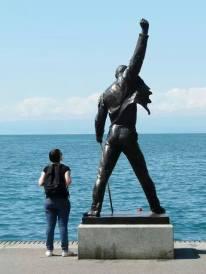 Statue de Freddie Mercury (Montreux 2011)
