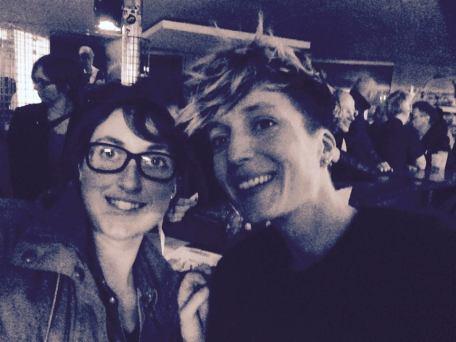 Selfie avec Jeanne Added