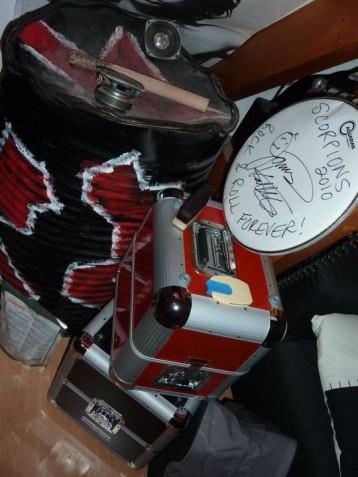 Le fut des Tambours du Bronx récupéré en 2009
