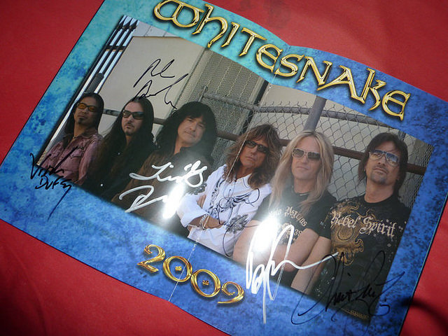 Dédicace de Whitesnake