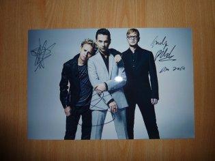 Dédicace de Depeche Mode à Bercy 2009