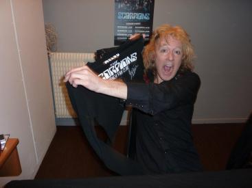 James Kottak de Scorpions (Rouen 2011)