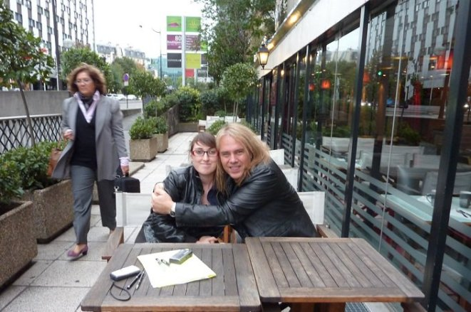 Andi Deris d'Helloween (Paris, 2011)