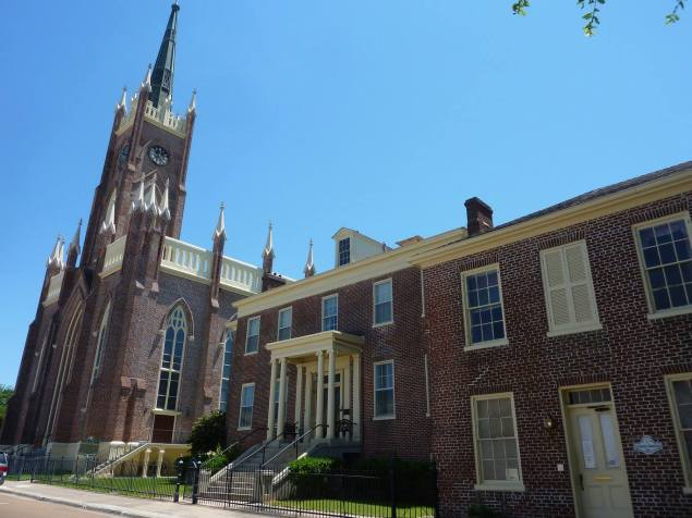 Basilica St Mary, Natchez
