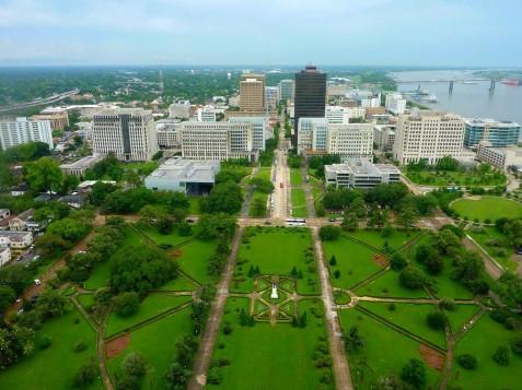 vue d'en haut du nouveau Capitol