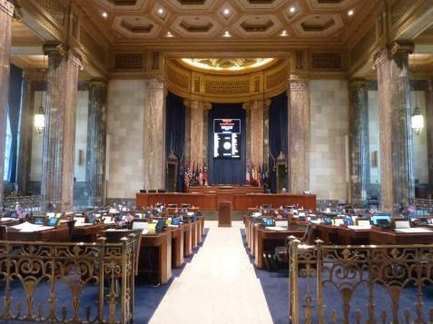 Salle de vote des lois