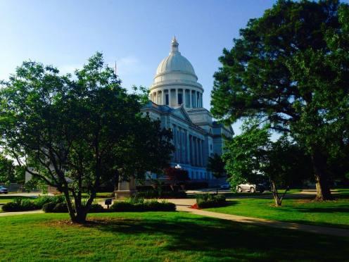 Capitol, Little Rock, Arkansas (derrière)