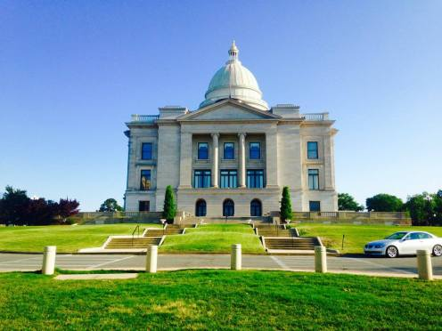 Capitol, Little Rock, Arkansas (devant)