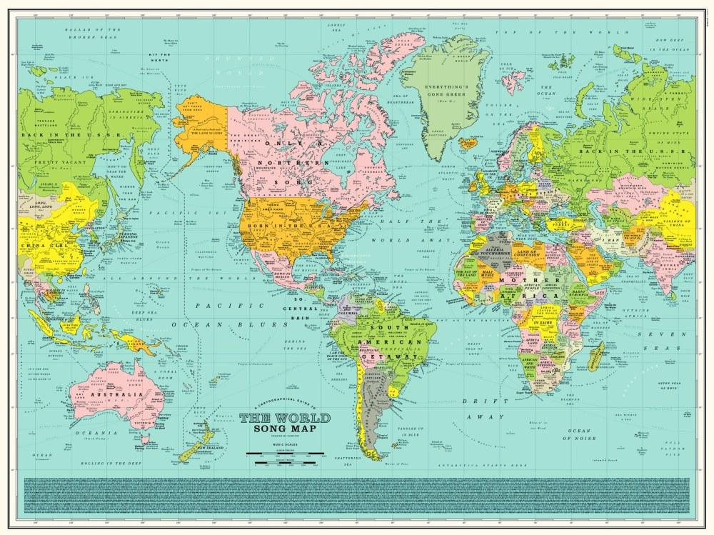 carte-monde-chanson