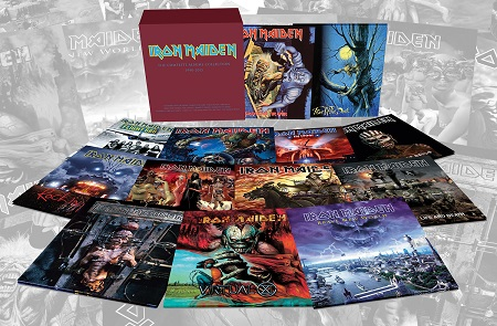 Iron Maiden.vinyl reissues2017