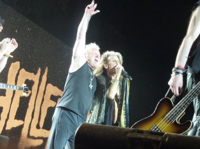 Aerosmith, Joey Kramen, Steven Tyler - Hellfest 2017