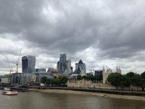 Vue du London Bridge