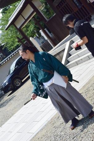 un samourai