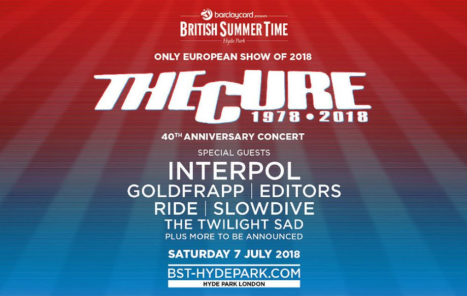 thecure2018